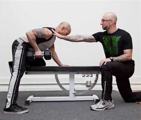 Тренерская роль в персональных тренировках