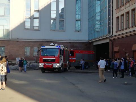 В тульском «Гостином дворе» снова сработала пожарная сигнализация