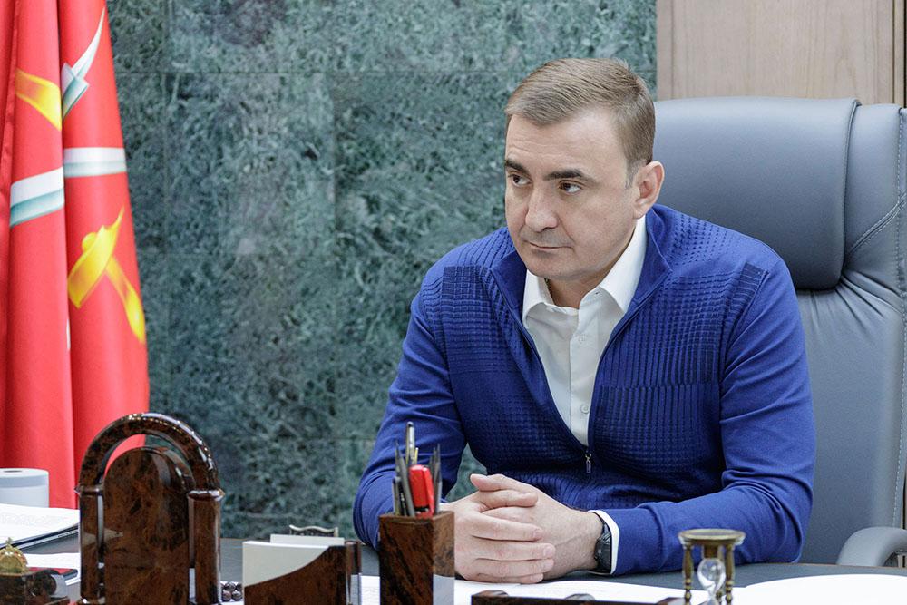 Губернатор Алексей Дюмин поздравил жителей Плавска с Днем города
