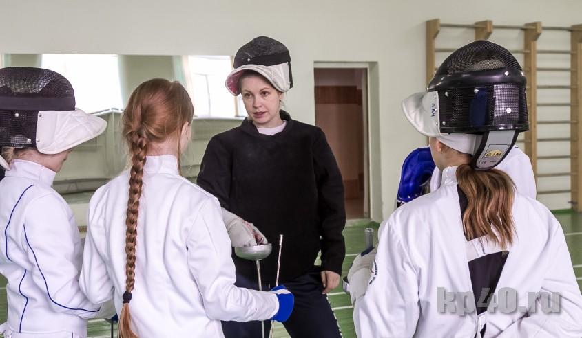 Клинок ломается на счастье: как чемпионка России тренирует детей в Калуге