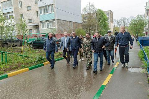 Валерий Шерин проверил исполнение поручений Губернатора Алексея Дюмина
