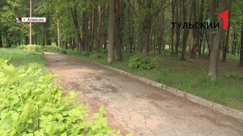 В Алексине благоустроят парк «Химик»