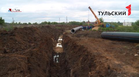 Почти 30 километров новых водопроводов проложат в Туле