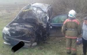 Виновник аварии с детьми скрылся с места ДТП и врезался в трактор