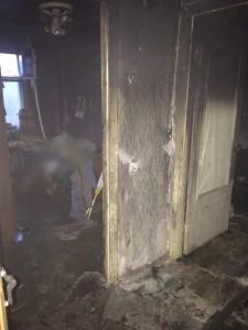 При пожаре в Малоярославце пострадал еще один человек