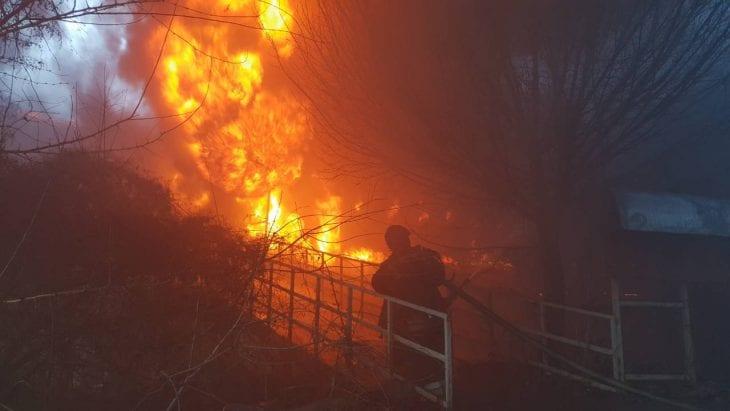 За сутки в Тульской области случилось 2 пожара