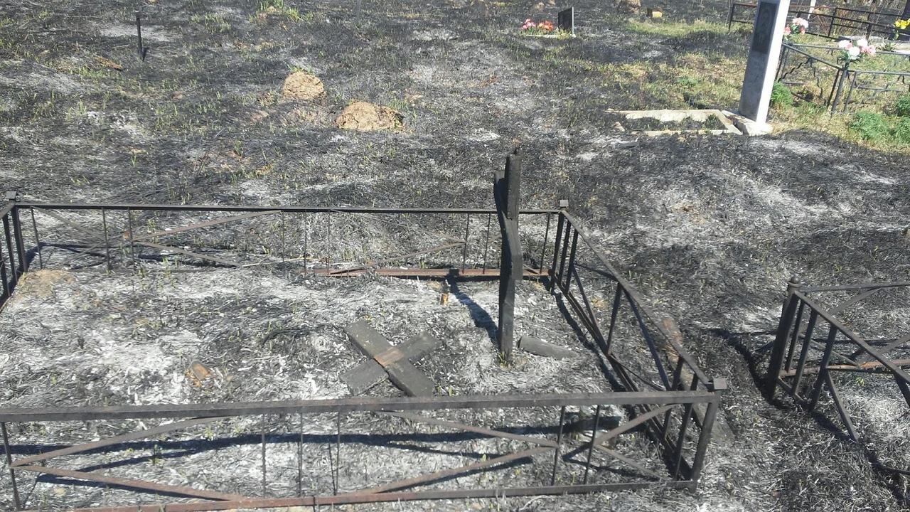 Пожар на Алексинском кладбище: продолжение истории