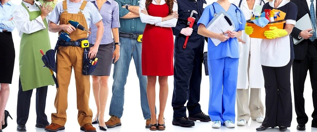 В каких сферах больше всего безработных