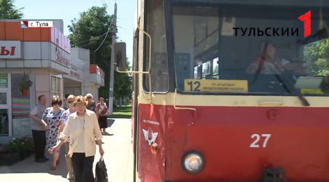 Работу общественного транспорта проверили в Туле