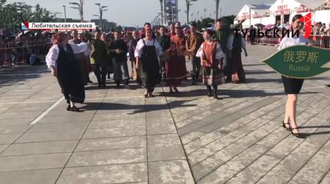 Артисты тульской филармонии выступили в Пекине