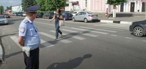 Инспекторы ДПС оштрафовали 423 пешехода