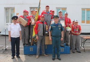 Жуковские добровольные пожарные стали лучшими в регионе