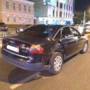 BMW X5 и Audi A6 не смогли разъехаться в центре Калуги