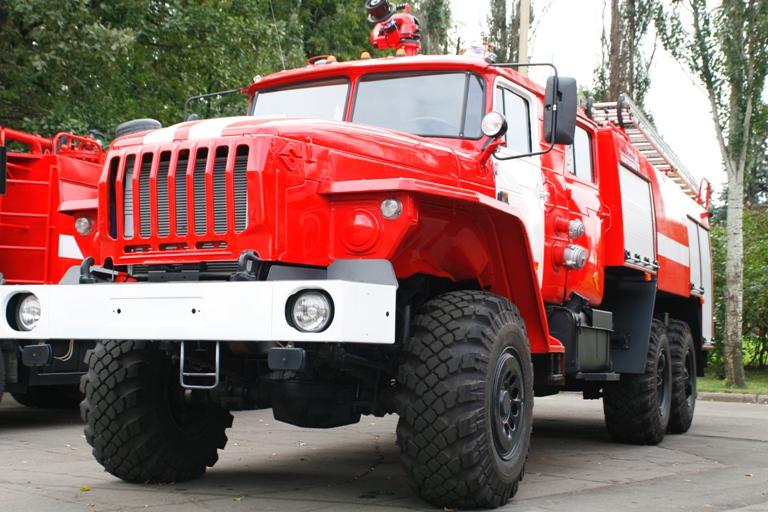 Пожарные в тульском ГКЗ: из здания