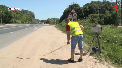 На дорогах Тульской области увеличится число дорожных камер