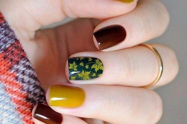 Дизайн ногтей осенью 2019 года